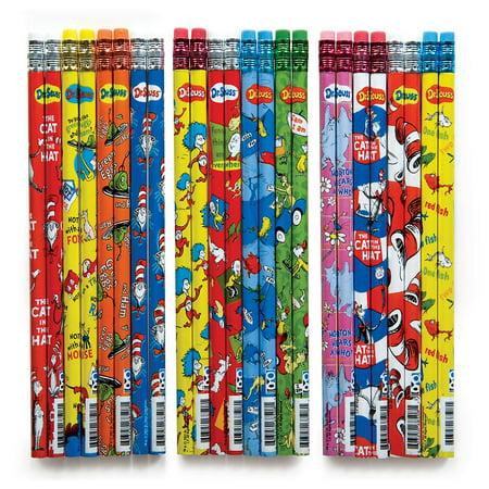 DR. SEUSS PENCIL TOO 72/DSP - Dr Seuss Pencils