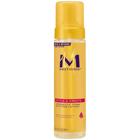 Motions Foaming Wrap Lotion - Motions Style & Create Versatile Foam Styling Lotion 8.5 Ounce