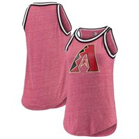 Arizona Diamondbacks New Era Women's Tri-Blend Jersey Tank Top - Red