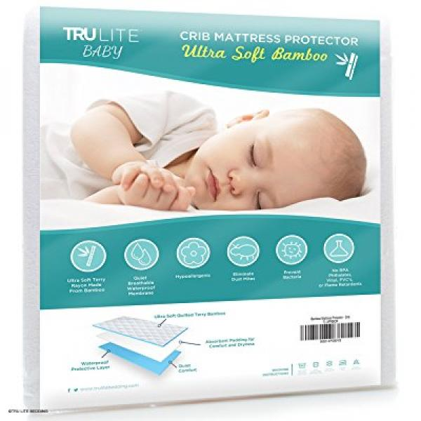 Waterproof NEW Spahr Bedding Cotton Terry Mattress Protector Cal King Crib
