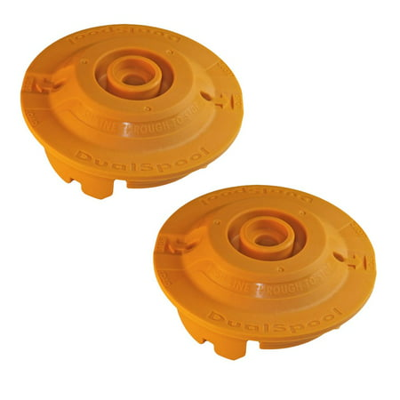 Ryobi RY26500 Trimmer Replacement Dual Spool Fixed Line String Head Insert #