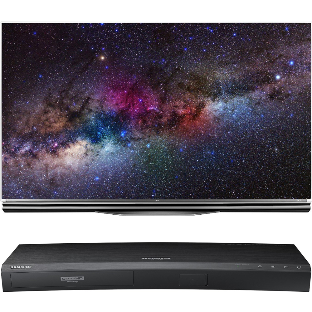 LG OLED65E6P - 65-Inch Flat 4K Ultra HD Smart OLED HDR TV...
