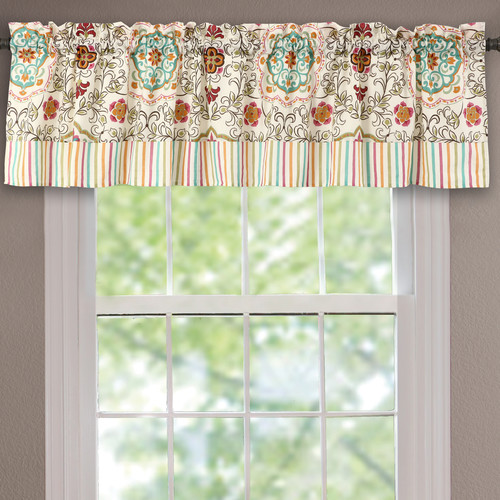 Greenland Home Fashions Esprit 84'' Curtain Valance