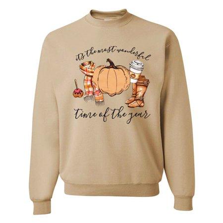 Women Cartoon Pumpkin Print Shirt O Neck Long Sleeve Top for Halloween