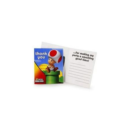 Super Mario Bros. Thank-You Notes](Super Mario Bros Party Ideas)