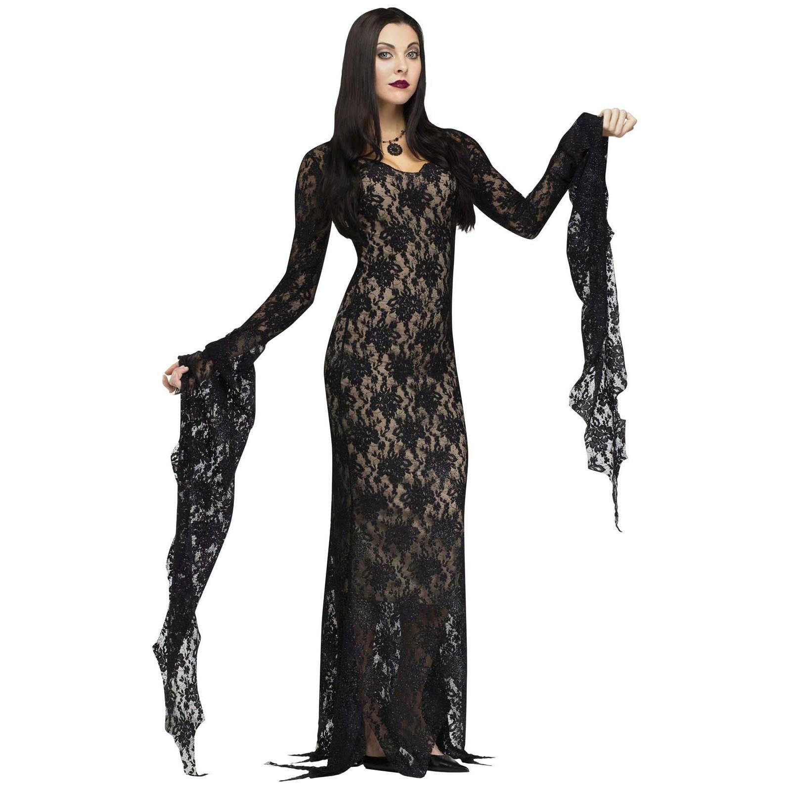 Lace Morticia Dress - Womens Costume - Small (4-6)