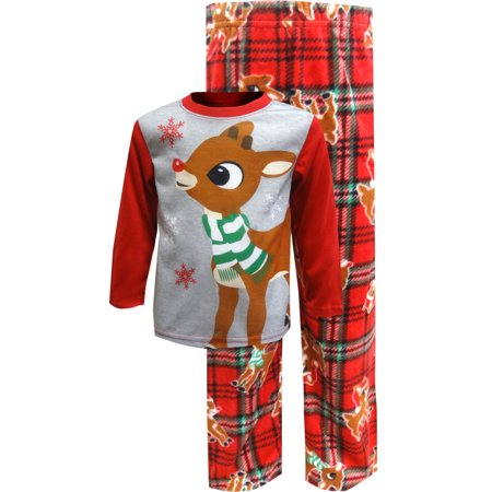 Rudolph The Red-Nosed Reindeer Christmas Toddler - Christmas Pajamas Toddlers