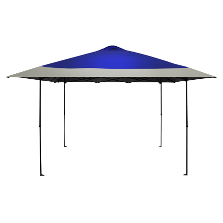 Caravan Canopy 12 ft 7 in x 12 ft 7 in Haven Sport Canopy Blue Bravo Sports Canopy