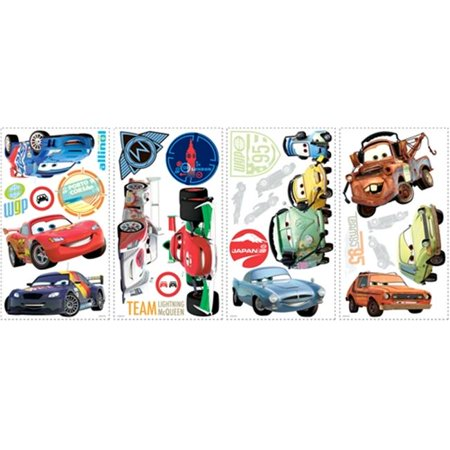 Roommate RMK1583SCS Cars 2 Wall Decals