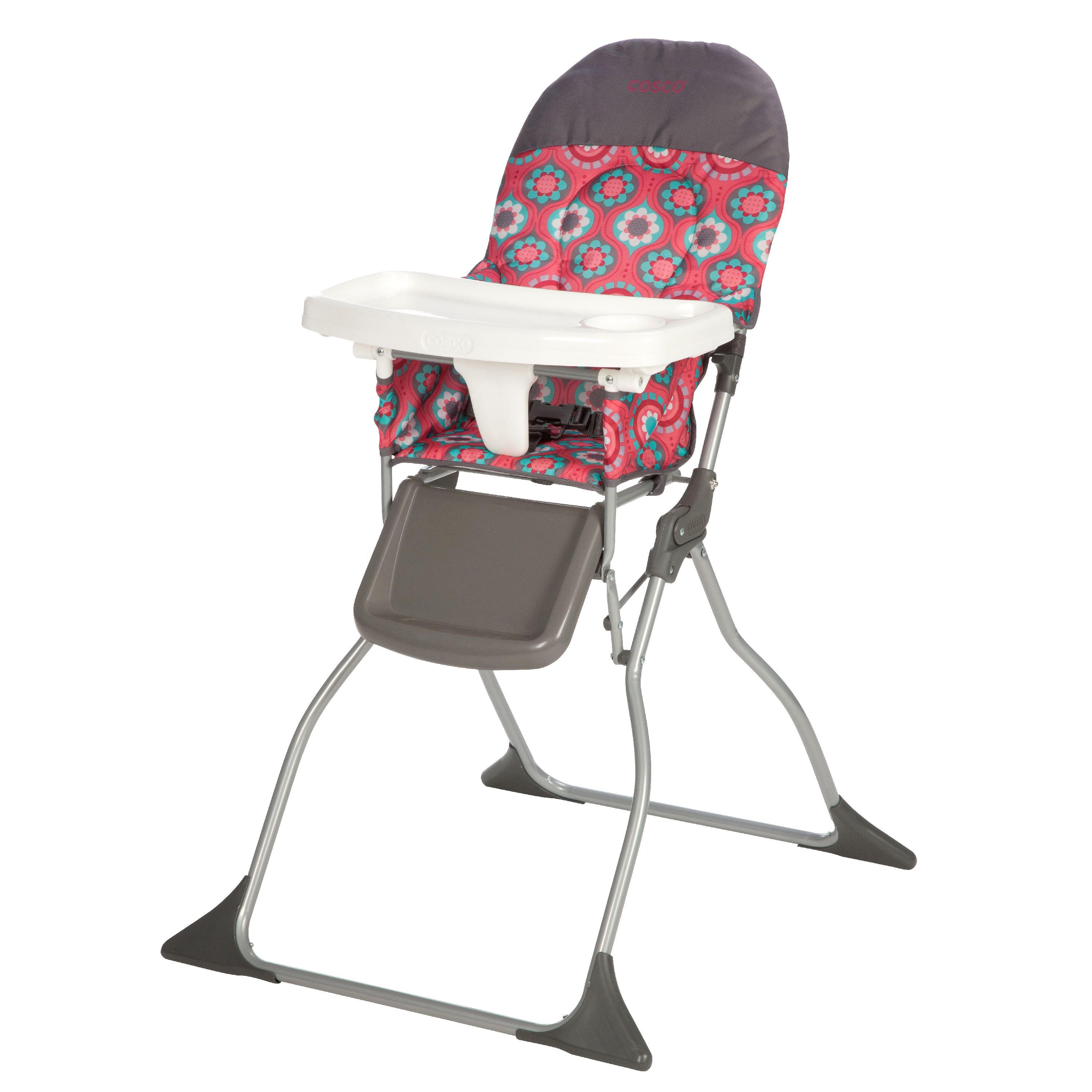 cosco simple fold high chair choose your pattern  walmartcom -