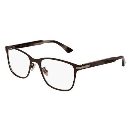 Gucci - GG0070O-003 Optical Frame TITANIUM - Walmart.com