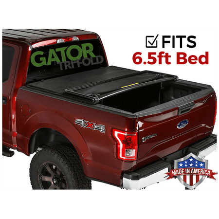 Gator ETX Tri-Fold (fits) 2015-2019 Ford F150 6.5 FT Bed Only Tonneau Truck Bed Cover Made in the USA 59313