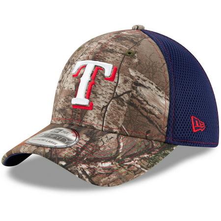 watch 90910 58704 Texas Rangers New Era Neo 39THRTY Flex Hat - Realtree- Camo Navy -  Walmart.com