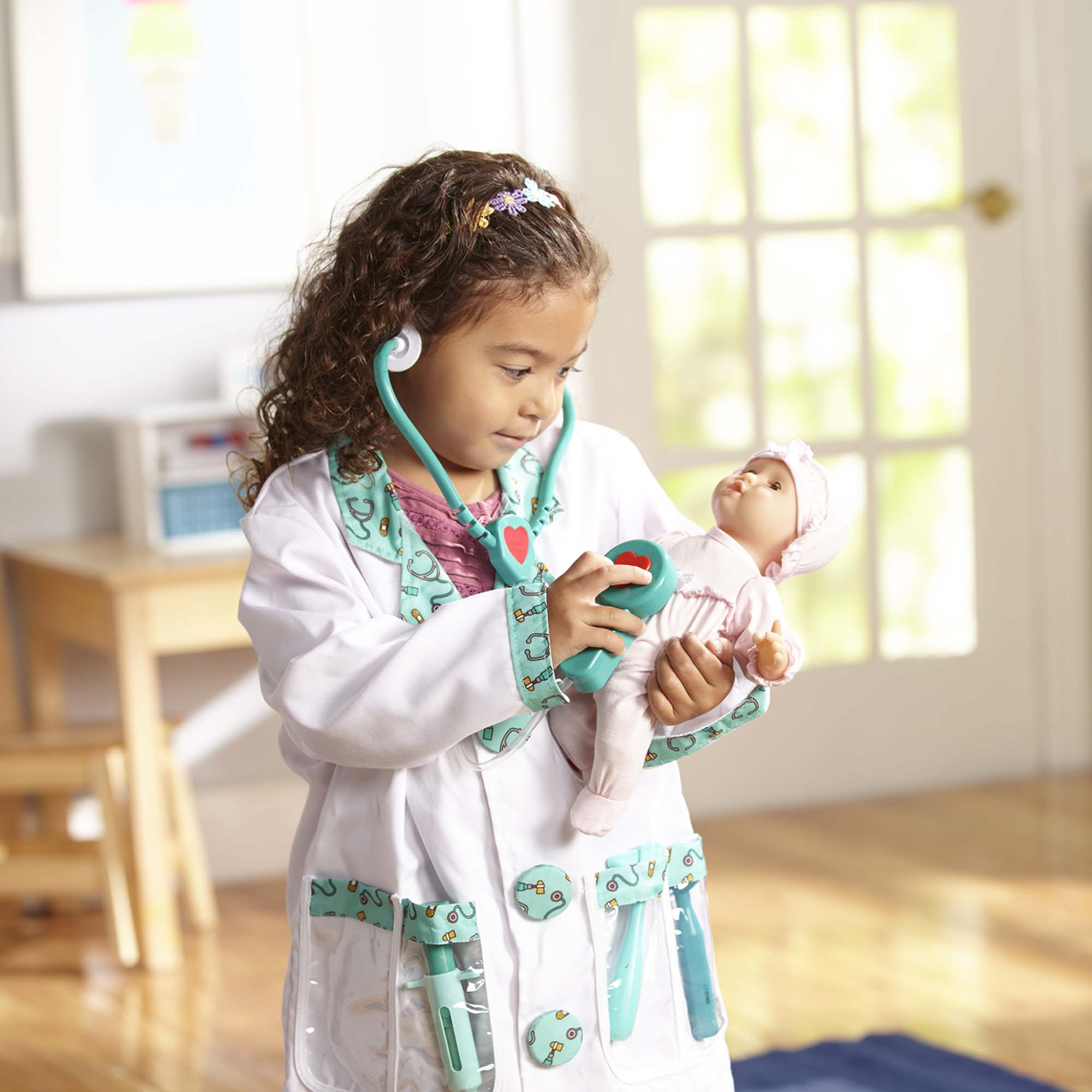 2e49adc719fa Melissa & Doug® Doctor Role Play Costume Set, Ages 3-6 years