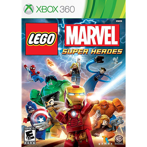 LEGO Marvel Super Heroes, Warner, Xbox 360, 883929319701