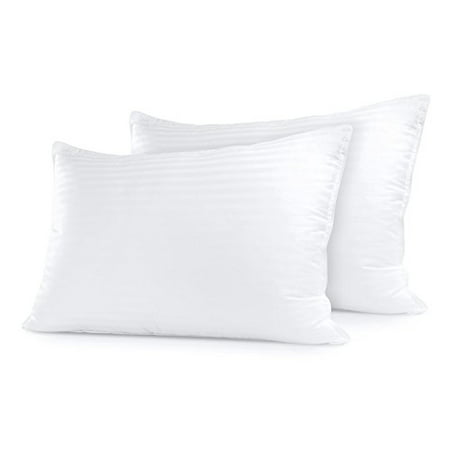 Sleep Restoration Gel Pillow – (2 Pack Queen) Best Hotel Quality Comfortable
