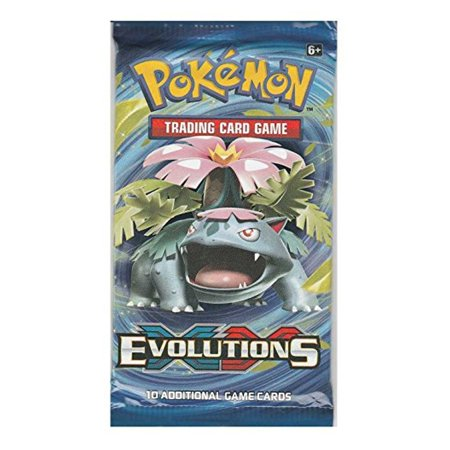 Pokemon XY Evolutions Trading Card Game Booster Pack ()