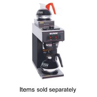 BUNN Two Warmer Coffee Brewer, Black