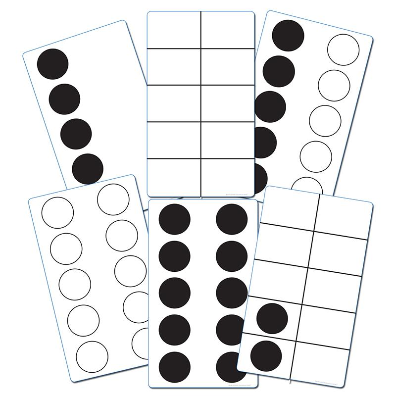 TEN FRAME ACTIVITY CARDS