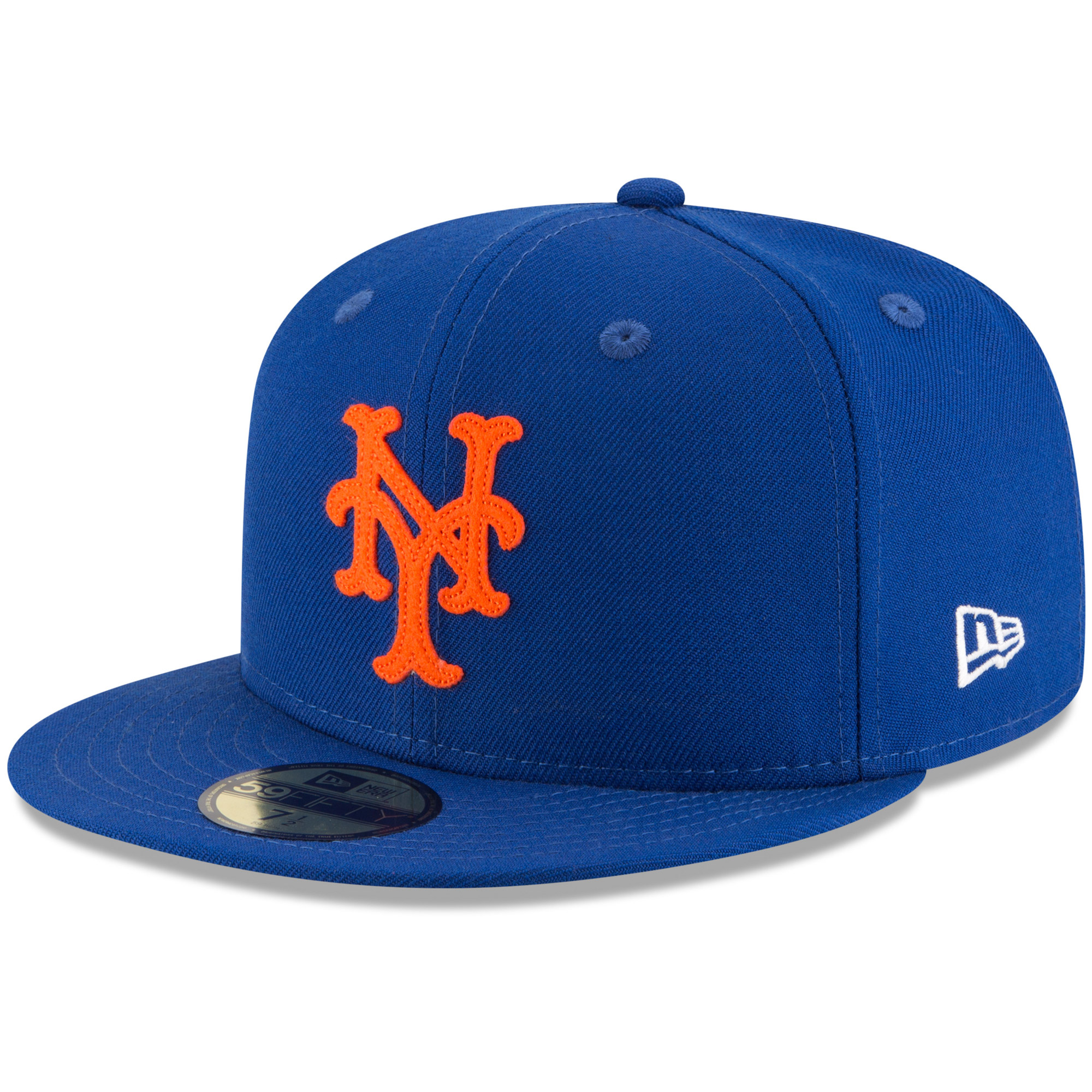 New York Mets New Era Cooperstown Inaugural Season 59FIFTY Fitted Hat - Royal