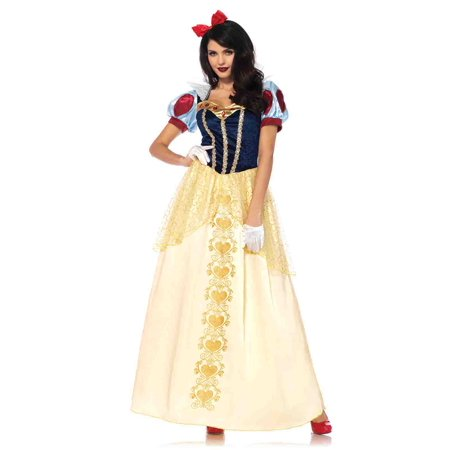 Leg Avenue Deluxe Snow White Adult Womens Costume (Snow White Women Costume)