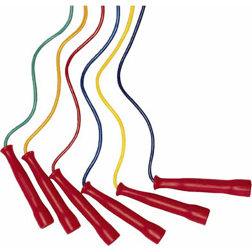 Spectrum Jump Ropes, Set of 6, 8'