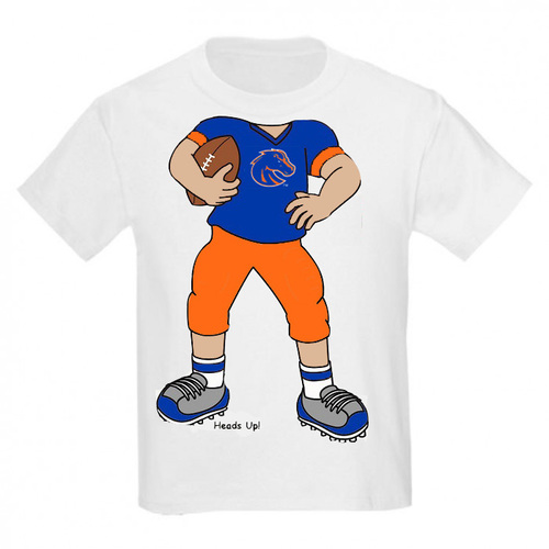 Boise State Bronco Heads Up! Football Infant/Toddler T-Shirt