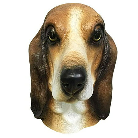 Basset Hound Dog Costume Face Mask - Off the Wall Toys Kennel Club