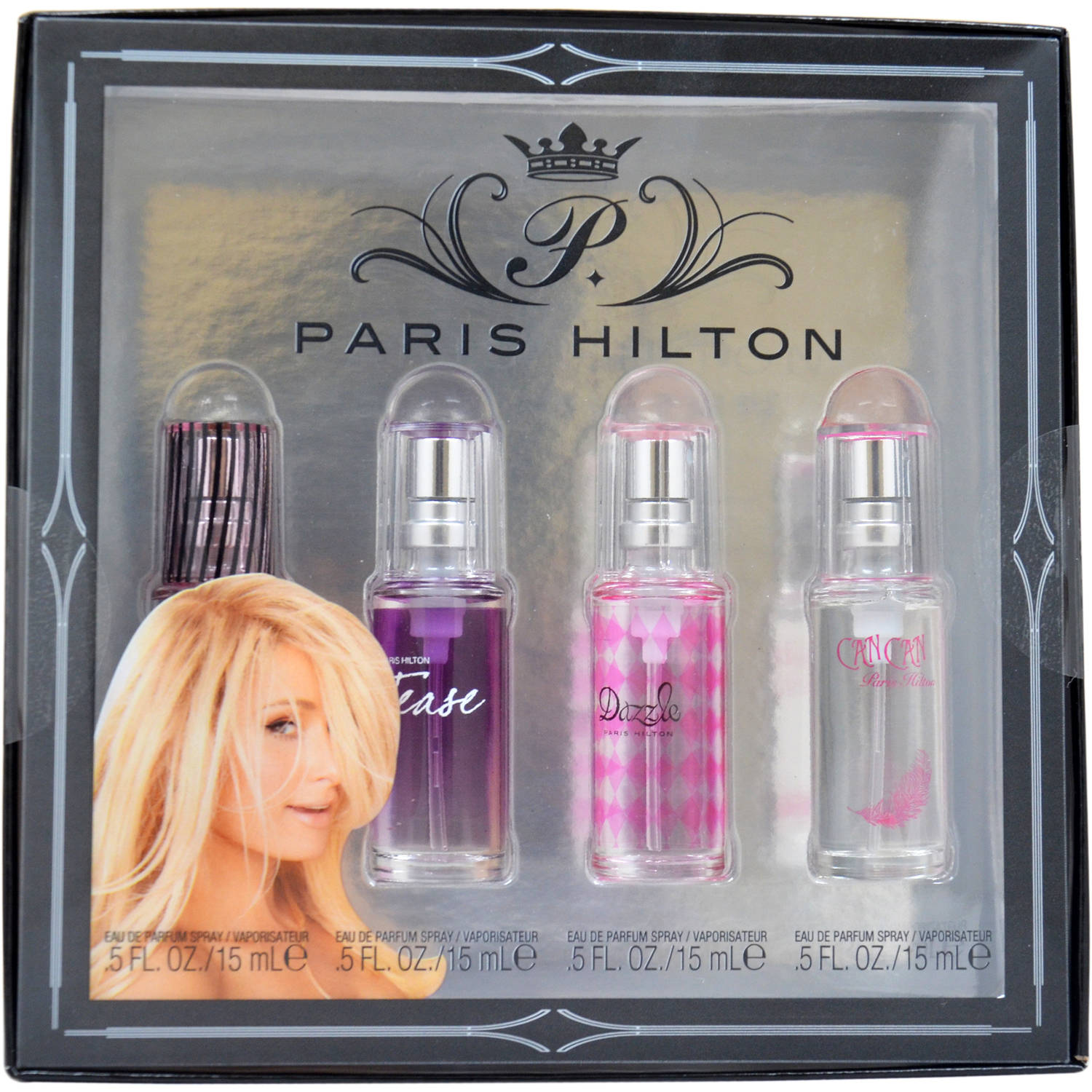 Paris Hilton Paris Hilton Variety for Women, Mini Gift Set, 4 pc