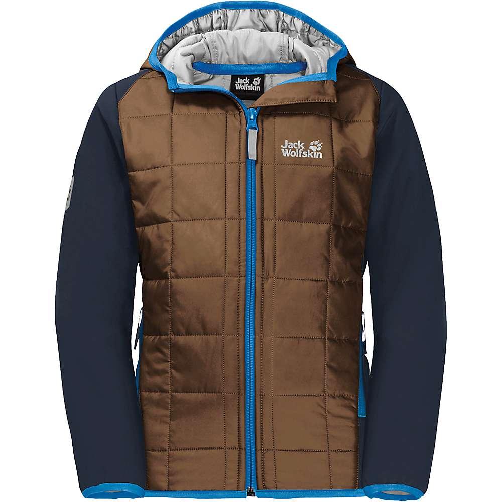 Jack Wolfskin Boys' Grassland Hybrid Jacket