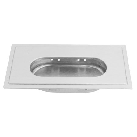 Cabinet Hardware Rectangle Edge Stainless Steel Flush Pull Handle - image 1 of 1