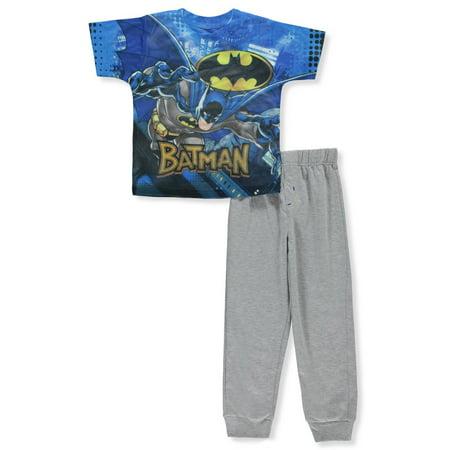 Batman Boys' 2-Piece Pants Set Outfit - Womens Batman Outfit