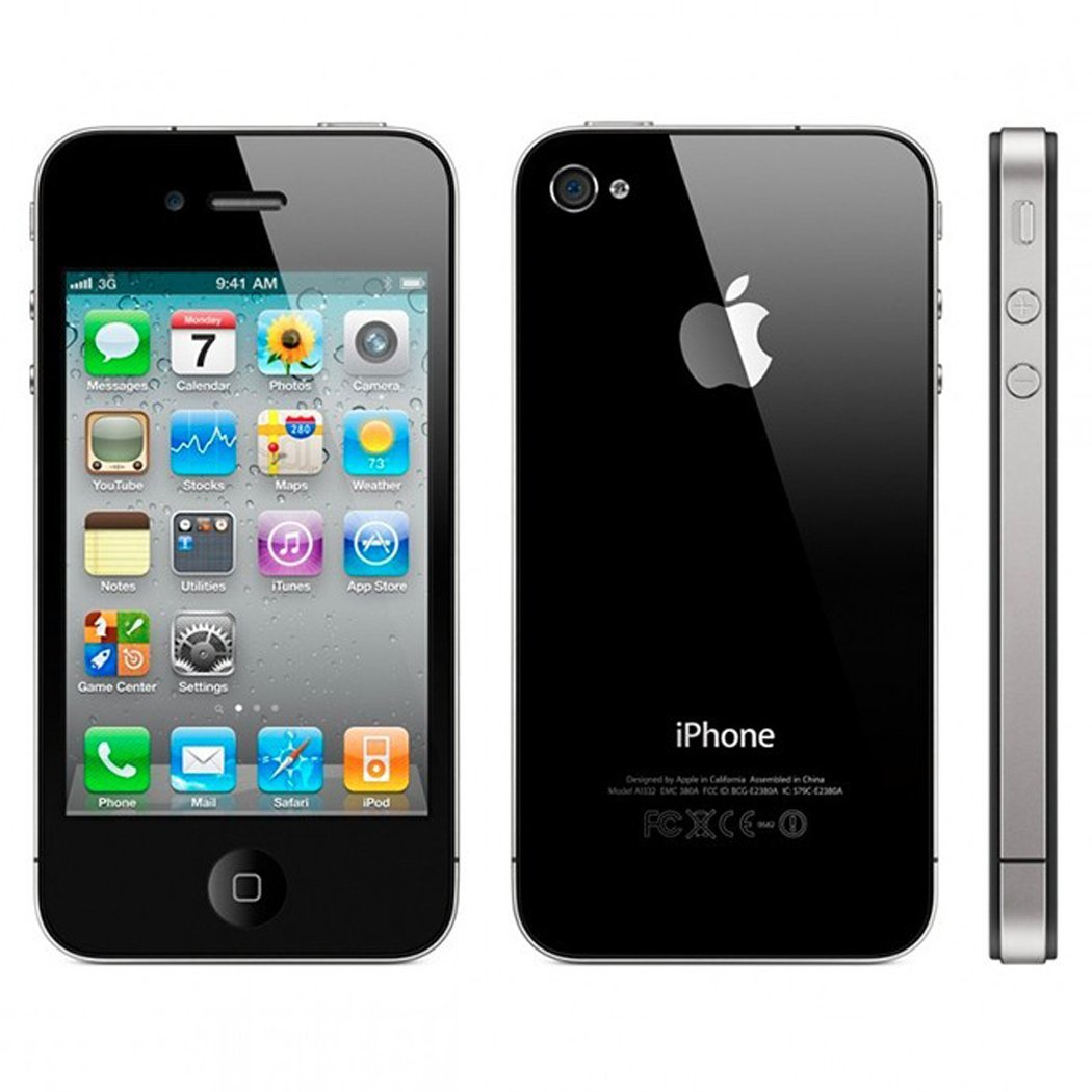 Apple Iphone 4S 32GB Black AT&T Smart Phone - NO BOX