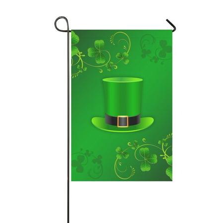 MYPOP St Patricks Day Garden Flag 28x40 inches Outdoor Celebrating Holidays Decor
