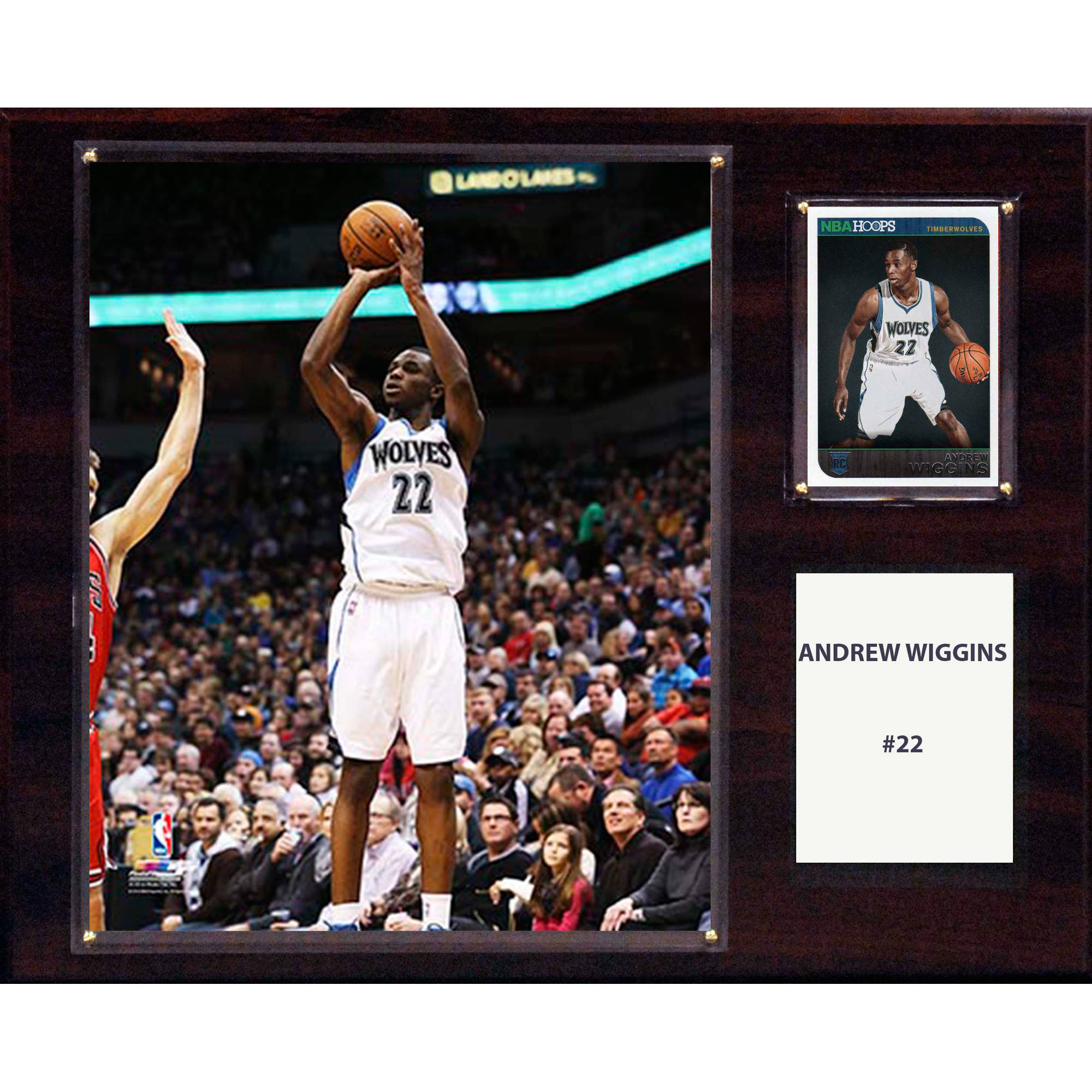 C&I Collectables NBA 12x15 Andrew Wiggins Minnesota Timberwolves Player Plaque
