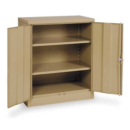 36 High Cabinet - Storage Cabinet,Tan,42 In H,36 In W