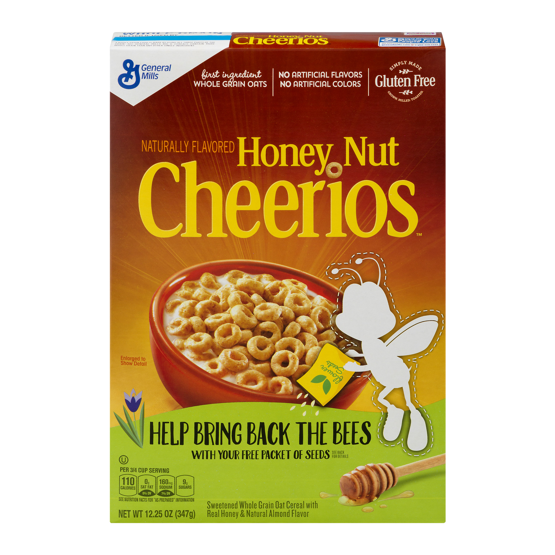 Honey Nut Cheerios™ Gluten Free Cereal 12.25 oz Box