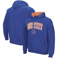 Boise State Broncos Colosseum Arch & Logo Pullover Hoodie - Royal