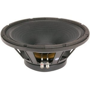 15-in Pro Mid Bass Speaker  1000W Max  8 ohms w/Aluminum voice coil