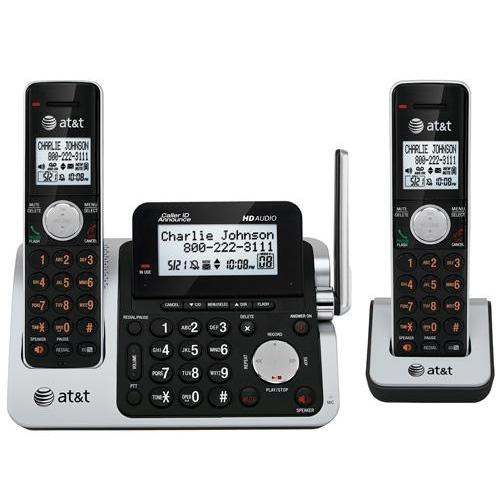 AT&T CL83201 DECT 6.0 Two Handset Cordless Phone