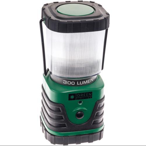 GREENLIGHTING NEW Green 300 Lumens Muli-Functional LED Camping Emergency Lantern