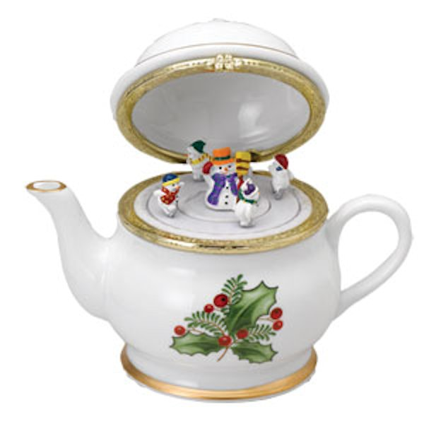 Mr. Christmas 69881 Holiday Tea Party Teapot