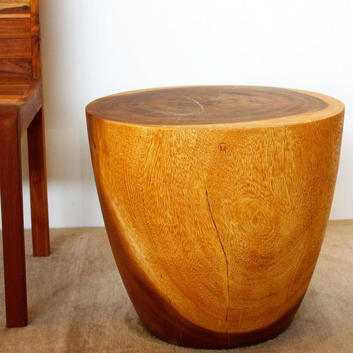 Union Rustic Seliga Drum End Table