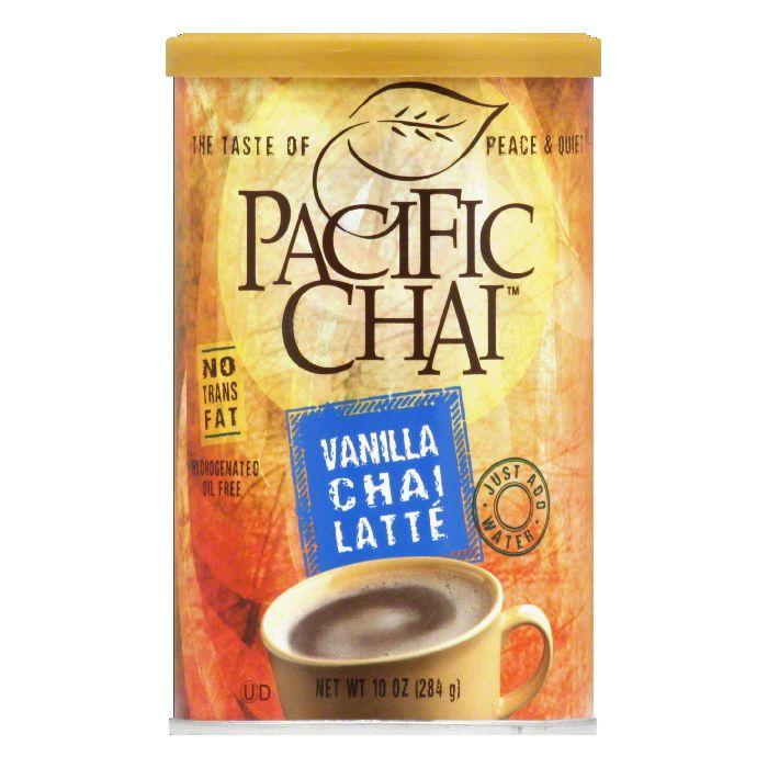 Pacific Chai Latte Vanilla, 10 OZ (Pack of 6)
