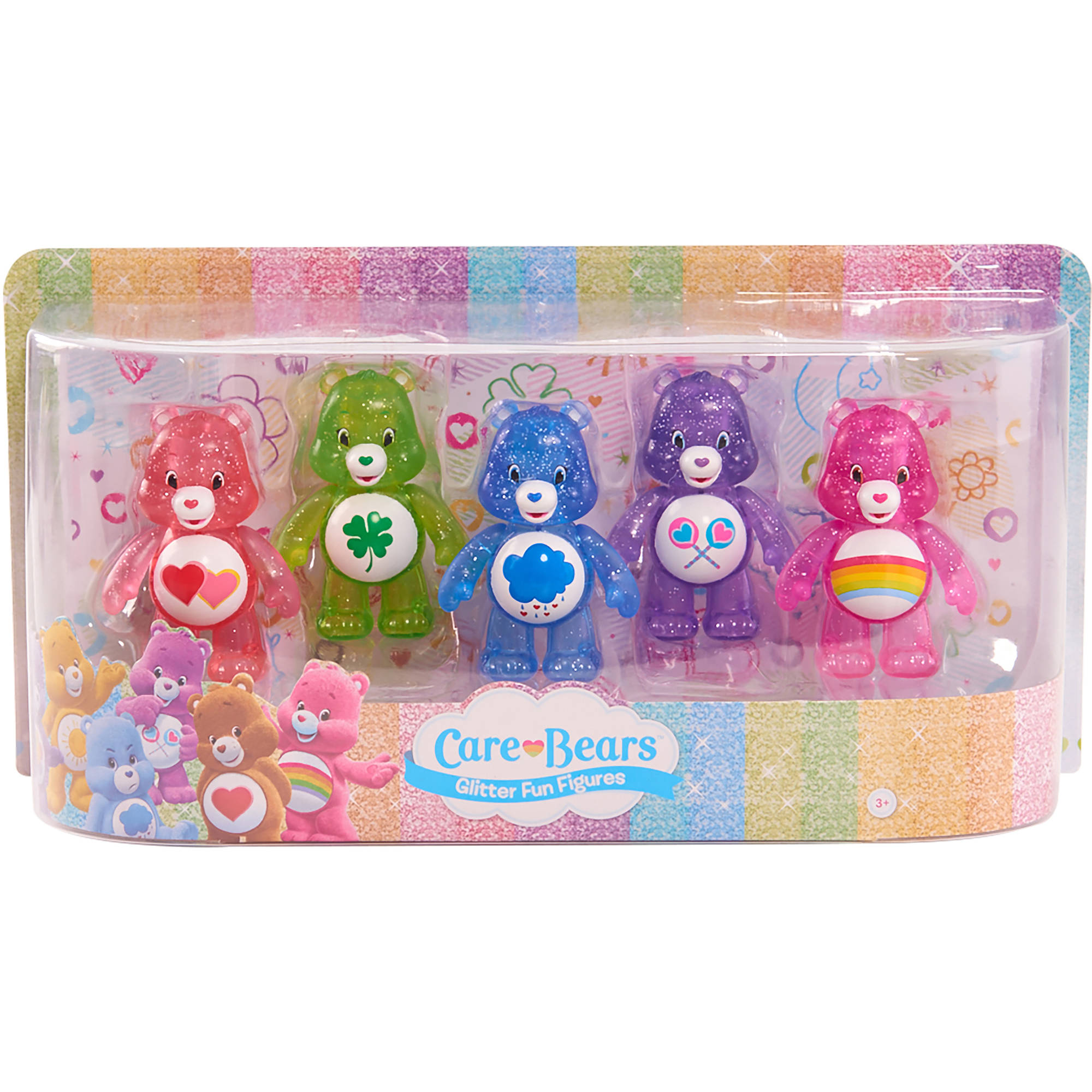 Care Bears Glitter Fun Figure Set