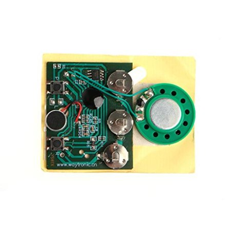 Bettal 16ohm 05W 30s Key Control Recordable Module Music Voice Board For Greeting Card