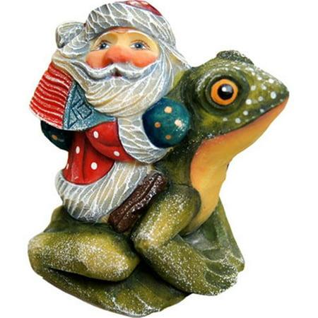 GDeBrekht 63125 Santa On Frog Figurine Ornament