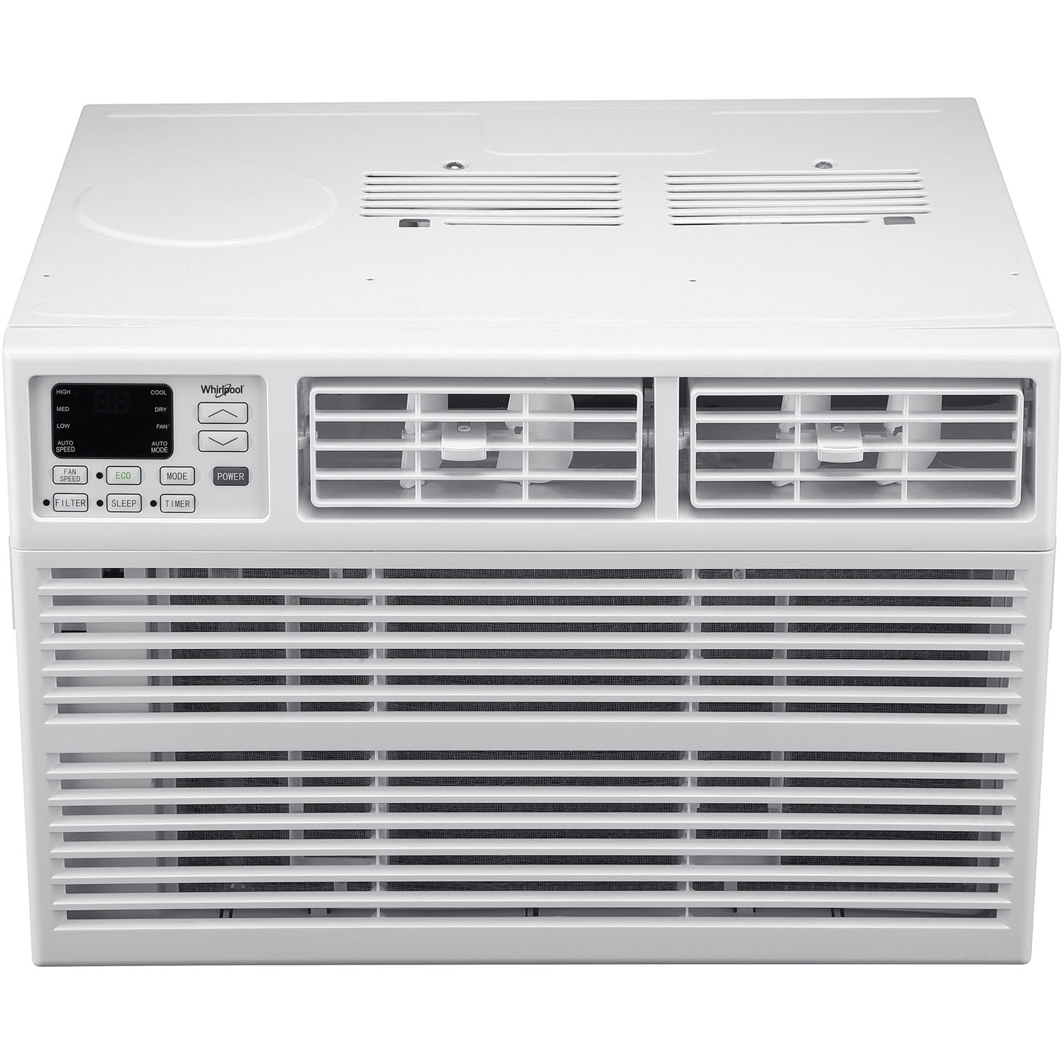 Whirlpool Energy Star 6,000 BTU 115V Window-Mounted Air Conditioner with Remote Control