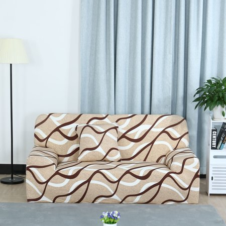 Stretch Polyester Loveseat Sofa Slipcovers ProteorPrinted Pattern ()