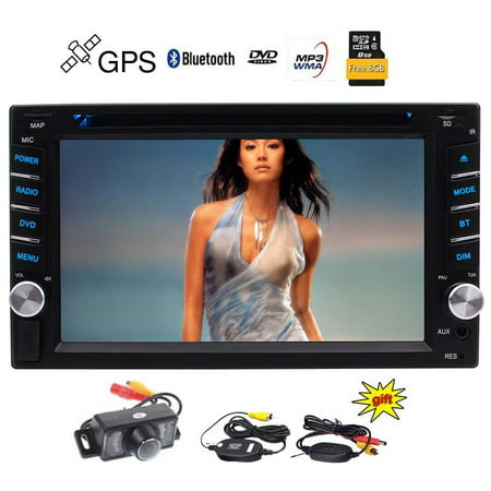Wireless Backup Camers included 2 Din Car DVD Player Autoradio Stereo with Wince System Automotive Parts 3D GPS Auto Radio Electronics Double Din in Dash MP3 Music Capacitive Touchscreen in